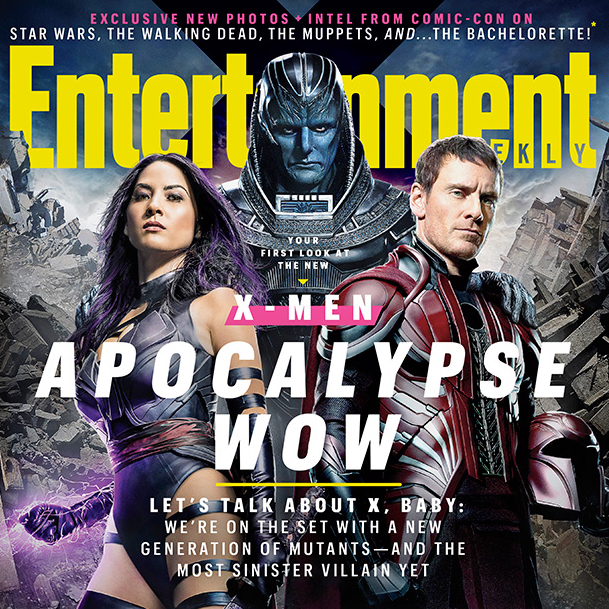 X-Men Apocalypse Entertainment Weekly rundown feature