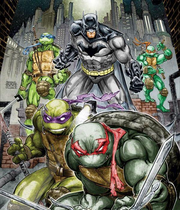 Batman TMNT #1 Cover