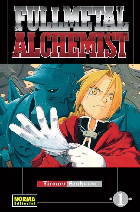 Full Metal Alchemist Vol 1 Cover