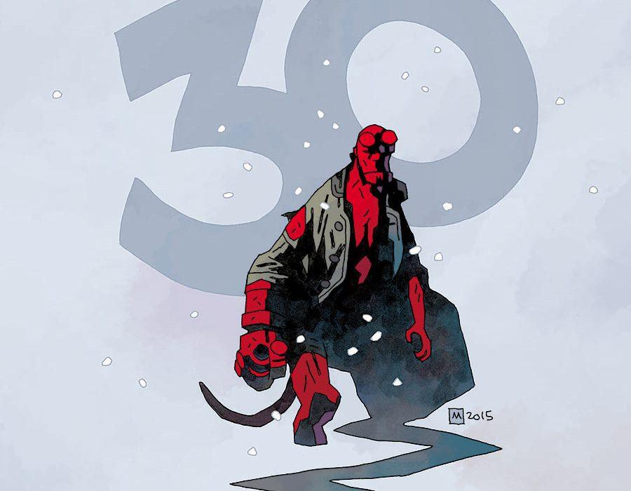 Hellboy Winter Special (Mignola cover)