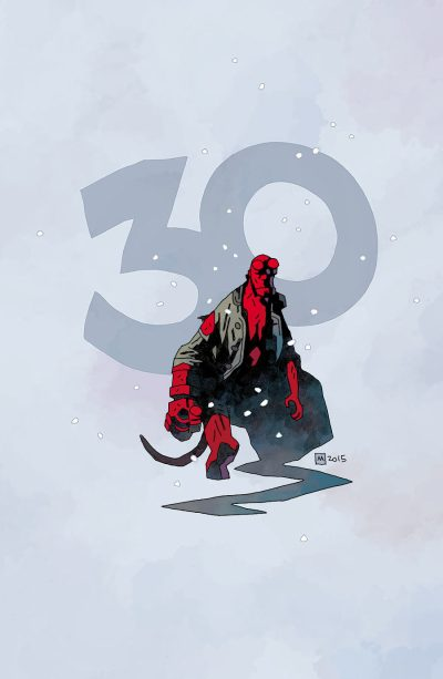Hellboy Winter Special (Mike Mignola cover)