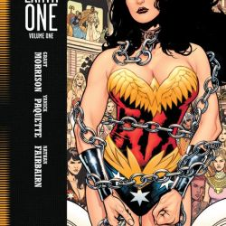 Wonder Woman Earth One Cover