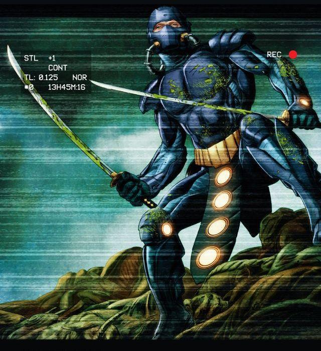 Ninjak #10 Cover