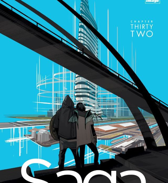 Saga Issue 32 Cover