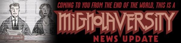 Mignolaversity News Update Logo