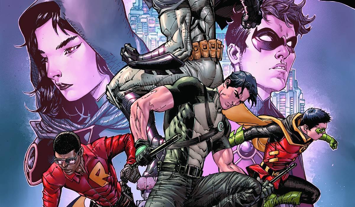 Batman and Robin Eternal 26 cover