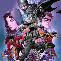 Batman and Robin Eternal 26 cover