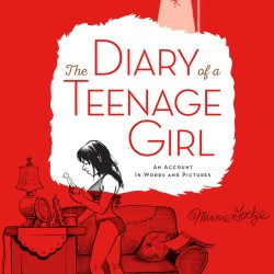 """Cover of the revised edition of """"The Diary of a Teenage Girl"""" by Phoebe Gloeckner"""