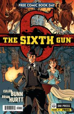 """The Sixth Gun"" #1 (Free Comic Book Day cover)"