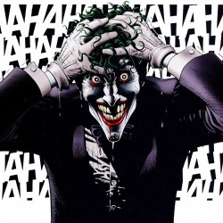 "Joker Laughing from ""The Killing Joke"""