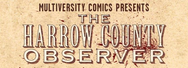 Harrow County Observer logo