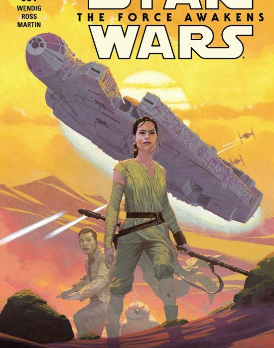 Star Wars The Force Awakens Issue One Cover