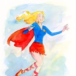 Supergirl Month: Colleen Coover Featured