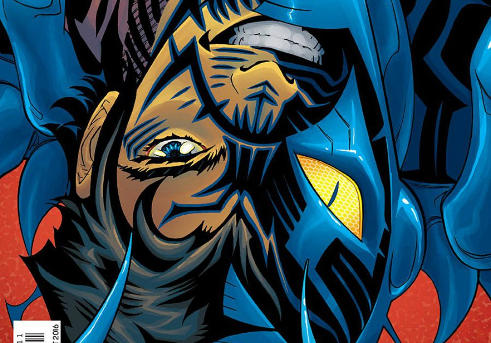 blue beetle rebirth #1 square