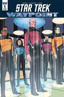 "Star Trek: Waypoint"" #1 – Multiversity Comics"