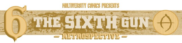 The Sixth Gun retrospective logo