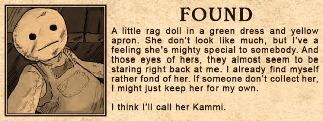 Found Doll