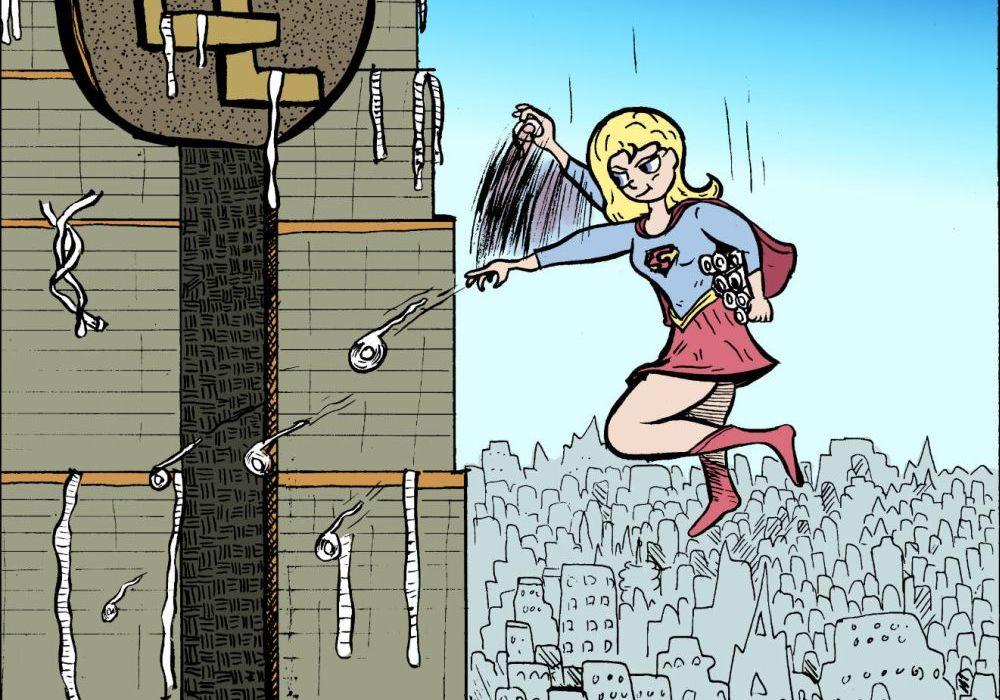 Supergirl by Matt Garcia