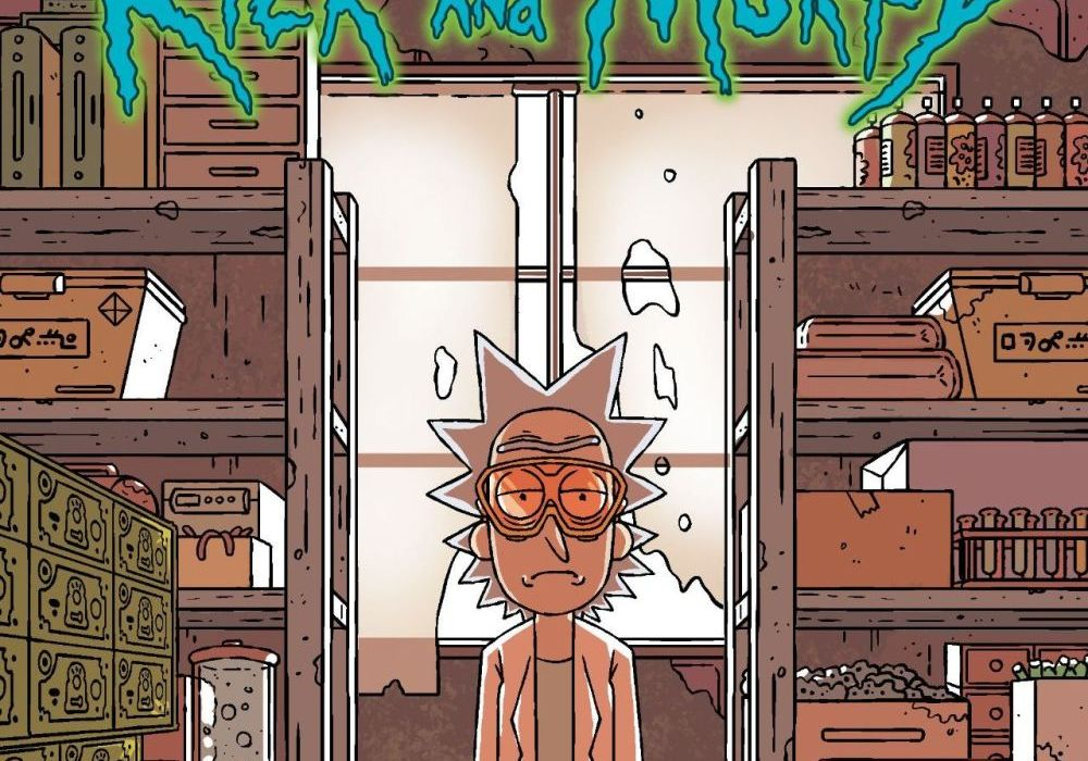 Rick and Morty #19 Featured