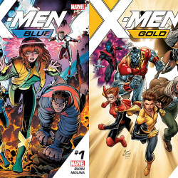 X-Men Blue and Gold