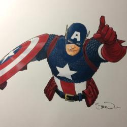 Captain America Steve McNiven