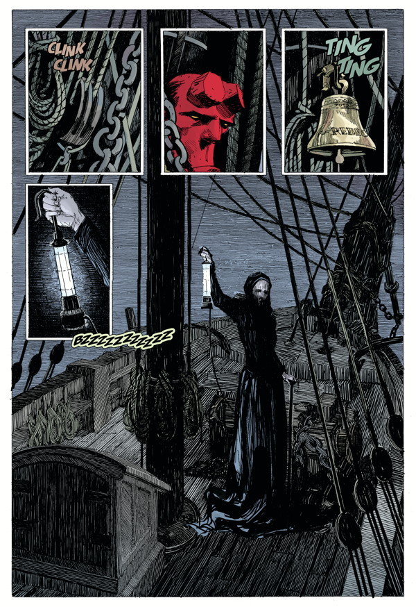 """""""Hellboy: Into the Silent Sea"""" preview page 5"""