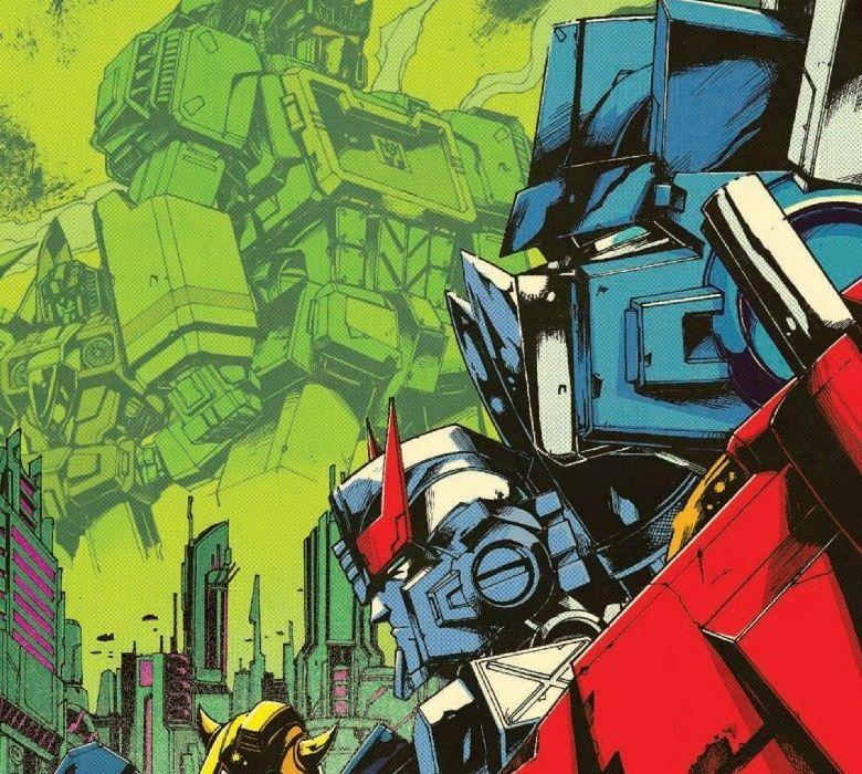 Optimus Prime #3 Featured