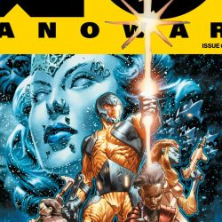 X-O Manowar #1 Cover Edit
