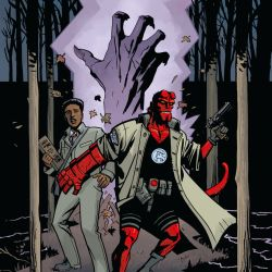 Hellboy and the B.P.R.D.: 1955—Secret-Nature (cover)