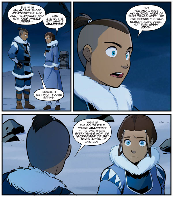 "Avatar Trailer Part 2: ""Avatar: The Last Airbender—North And South"" Part 3"