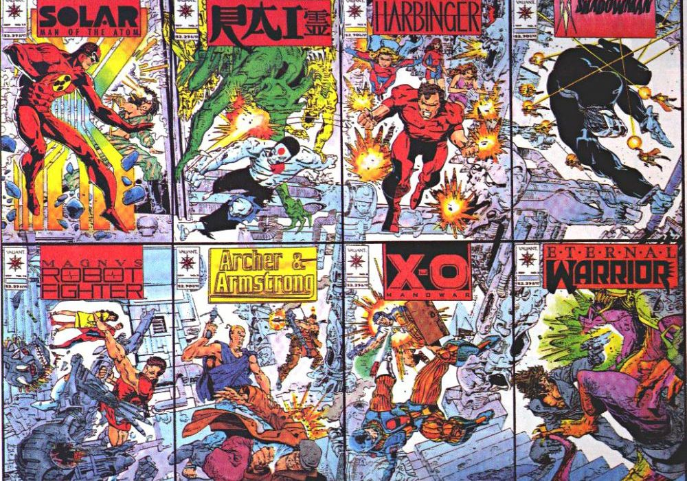 Original Valiant Covers