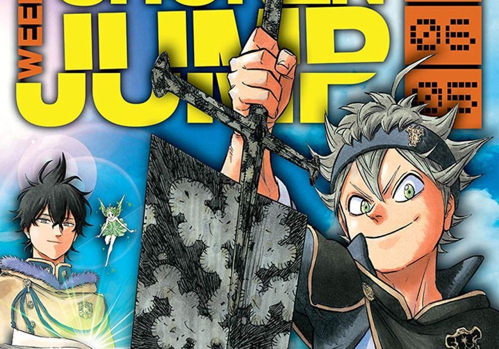 Weekly Shonen Jump June 5, 2017 Featured
