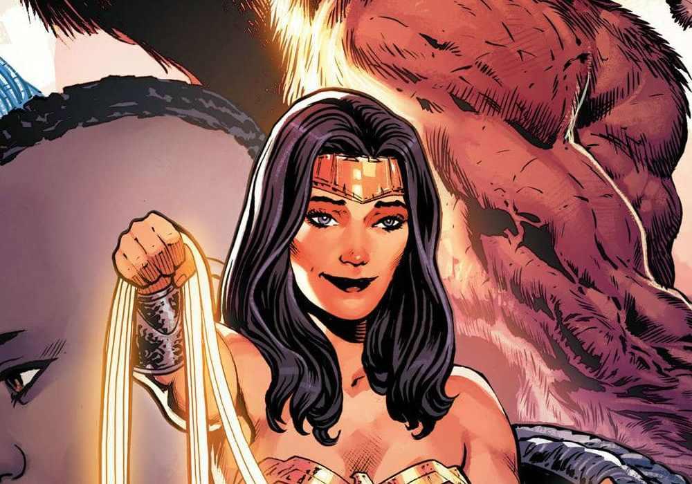 Wonder Woman #25 Featured
