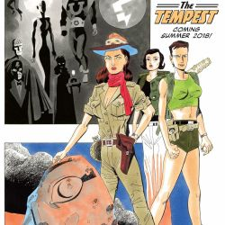 League of Extraordinary Gentlemen Tempest Square