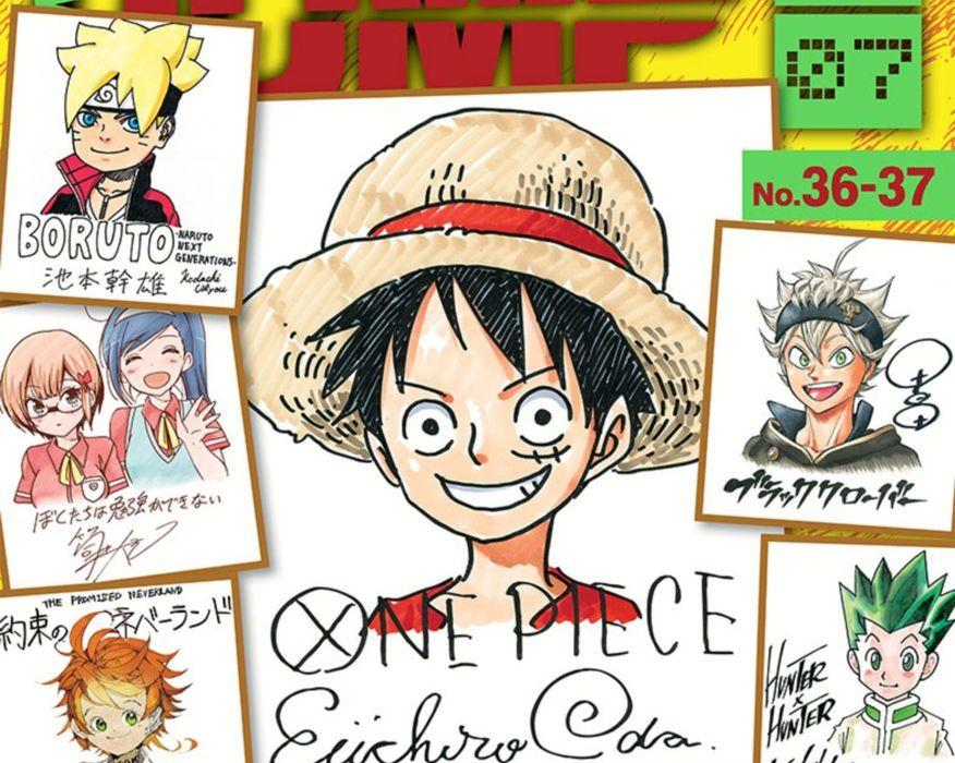 Weekly Shonen Jump August 7, 2017 Featured