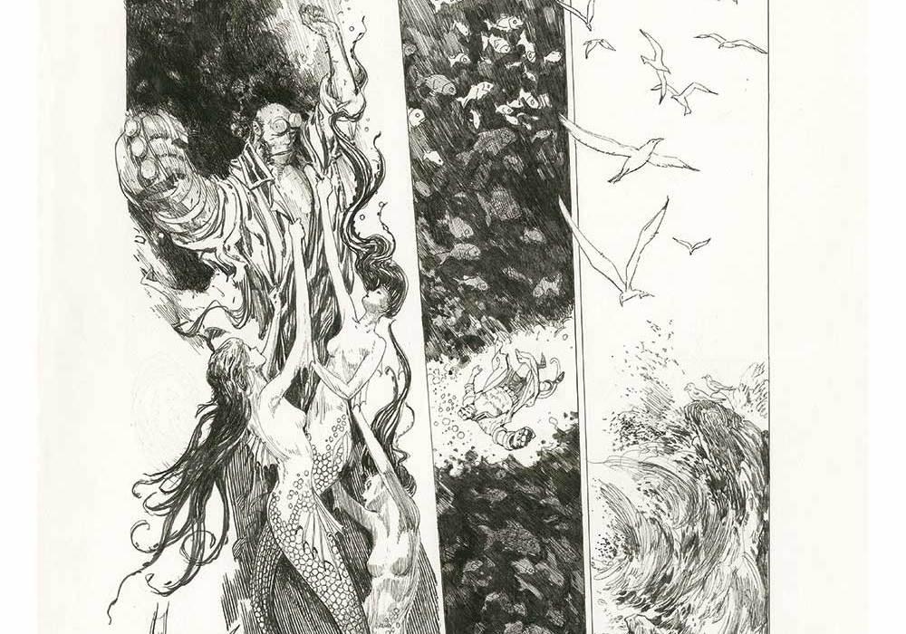 Feature: Hellboy: Into the Silent Sea (Studio Edition) Kickstarter