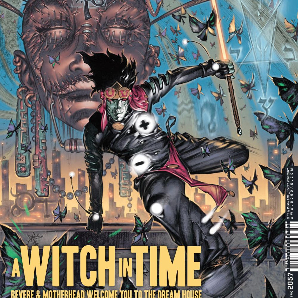 Multiver-City One: 2000 AD Prog 2057: A Witch in Time – Multiversity Comics