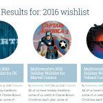 Multiversity's 2016 Wishlist Responses