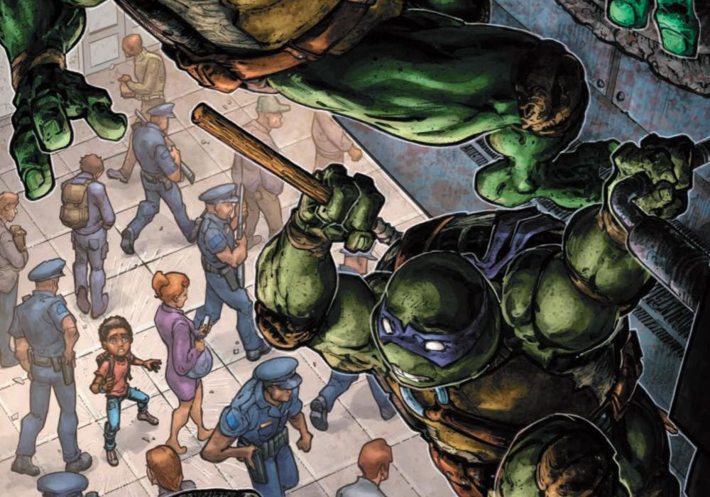 TMNT Universe #18 Featured