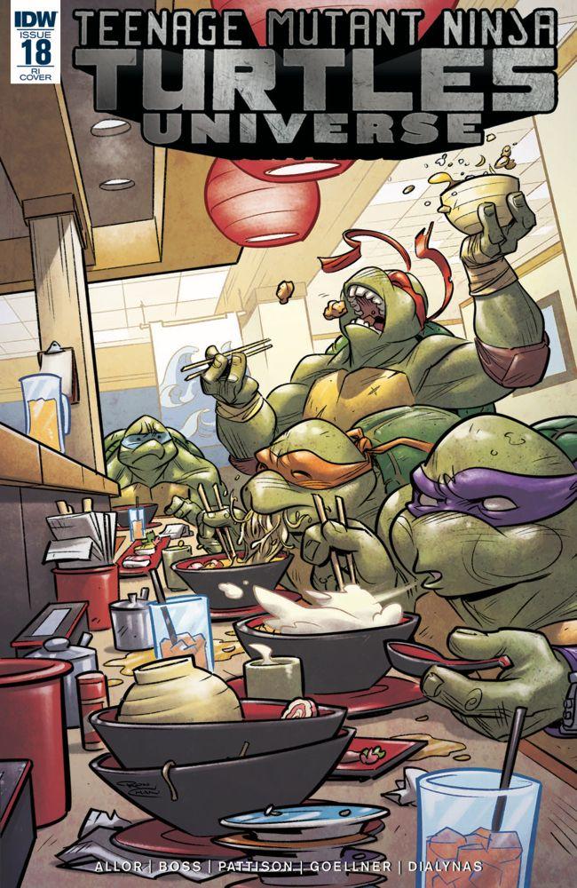 "Ninja 650 2017 >> Exclusive Preview: ""Teenage Mutant Ninja Turtles Universe"" #18 – Multiversity Comics"