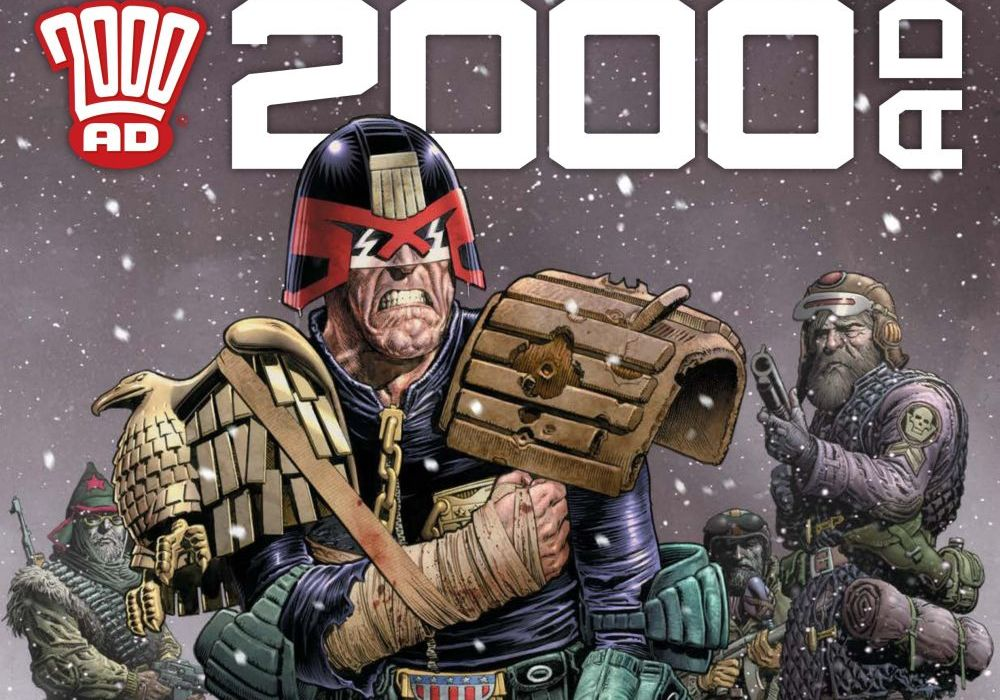 2000 AD Prog 2065 Featured