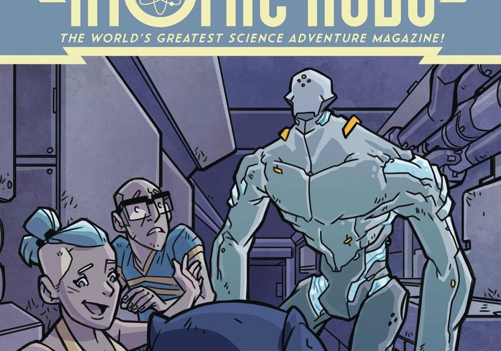 Atomic Robo: The Spectre of Tomorrow 4 Featured