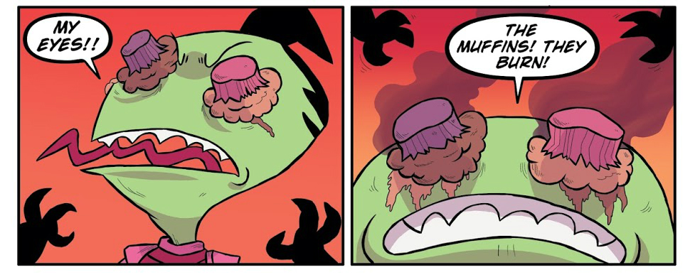 Dont Miss This Invader Zim By Eric Truheart And Maddie C Multiversity Comics