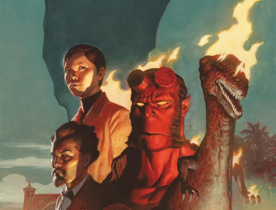 Feature: Hellboy and the B.P.R.D.: 1955—Burning Season