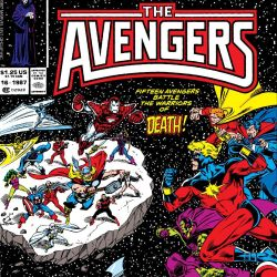 Avengers Annual #16 Featured