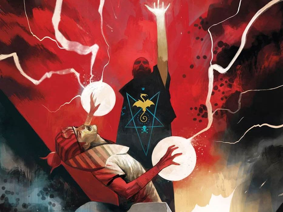 Feature: Rasputin: The Voice of the Dragon #5 (cover)