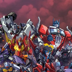 Detail of RI covers for Transformers MTMTE and RID issues 48, 49, and 50