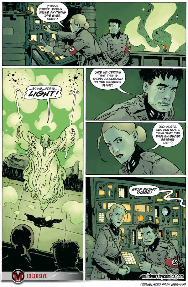 """Rasputin: The Voice of the Dragon"" #5, preview page 5"