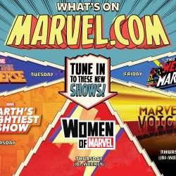 Marvel New Media banner