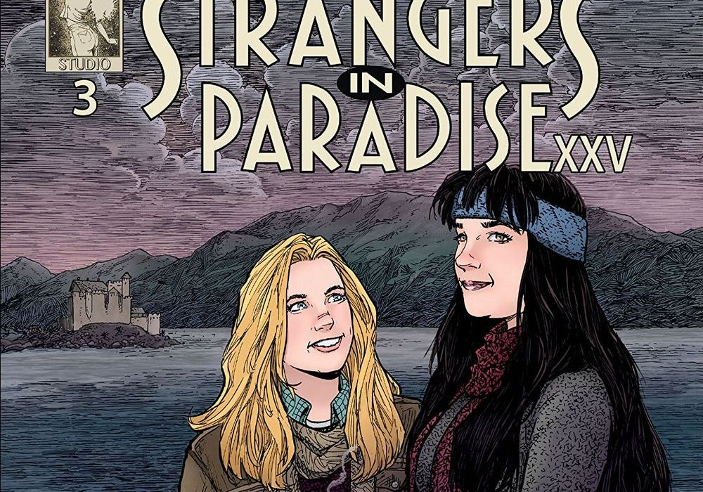 Strangers In Paradise XXV #3 Cover